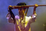 INDIO, CA - APRIL 26: Prince performs at Day 2 of the Coachella Music And Arts Festival on April 26, 2008 at Empire Polo Grounds in Indio, California. (Photo by Barry Brecheisen/WireImage) *** Local Caption *** Prince