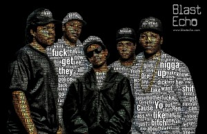 NWA lyric cloud