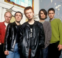 "01 Jul 1996 --- ""Radiohead photographed in New York City, 1996.    © Dennis Kleiman / Retna Ltd. *** NO USA***"" --- Image by © Dennis Kleiman/Retna Ltd./Corbis"