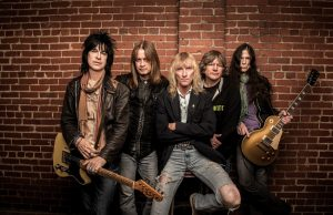 Heavy metal band Kix, photographed 18 October 2014 in Leesburg VA, for Baltimore Magazine.